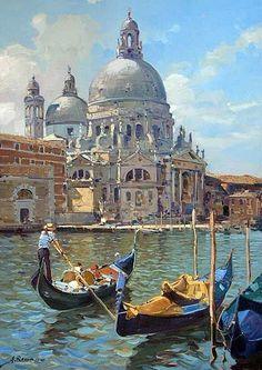 Armando Romano_basilica-della-salute_50x70_001.jpg (400×566)