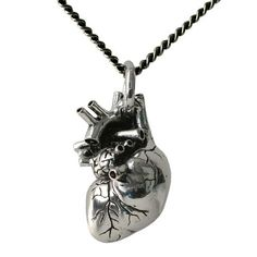 Handmade Gifts   Independent Design   Vintage Goods Anatomical Heart Necklace - Jewelry - Girls