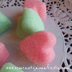 Receta terrones de azucar