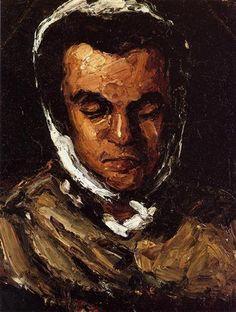 Portrait of Marie Cezanne, the Artist's Sister by Paul Cezanne Medium: oil on canvas