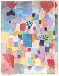Southern Gardens Paul Klee (German (born Switzerland), Münchenbuchsee 1879–1940 Muralto-Locarno)