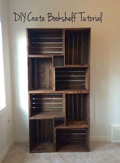Easy and affordable shelving