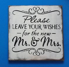 Please Sign For Weddings | Wedding sign for a guest book, guest table area  Visit & Like our Facebook page: https://www.facebook.com/pages/Rustic-Farmhouse-Decor