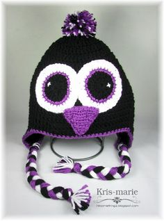 Crochet Penguin Hat by The Crafting Secretary