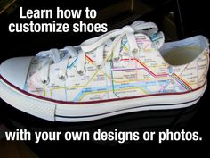 how to customize shoes with your own artwork