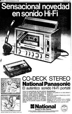 Co-Deck Stereo. Publicado el 25 de septiembre de 1980