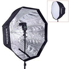 """Neewer® 32 """"/ 80cm Octagonal Schirm-Softbox für Speedlite, Studio-Blitz, Blitzgerät mit Tragetasche für Portrait- oder Produktfotografie - http://kameras-kaufen.de/neewer/neewer-32-80cm-octagonal-schirm-softbox-fuer-mit"""
