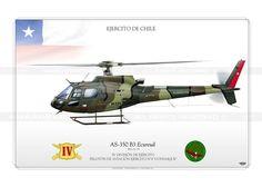 "AS-350B3 ""Ecureuil"" H-171 Chile JP-1087"