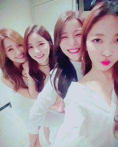 Eunji, Solar, Ailee and Luna