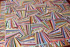 Fandango Quilt Pattern Art Quilt Wall Quilt String Quilt
