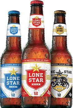 Lone Star Beer, San Antono, Texas since 1845