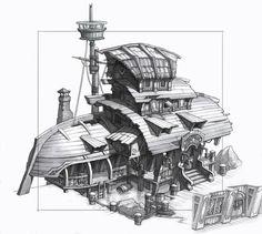 Картинки по запросу dofus pirate house