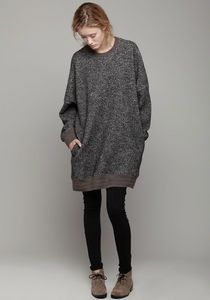 Super slouchy sweater dress