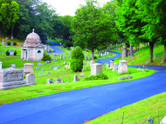 Dunmore Cemetery- Dunmore, Pennsylvania. Tours offered in the fall with live reenactments of events and historical information dating back to the Civil War.
