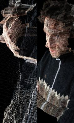 James George - spectacle of change Interactive Installation, Interactive Design, Installation Art, Dmx Lighting, Generative Art, Glitch Art, Double Exposure, Magazine Design, Layout