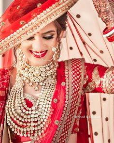 Beautiful Ghunghat Styles for Brides in Weddings: Various Wedding Veil Styles to Follow