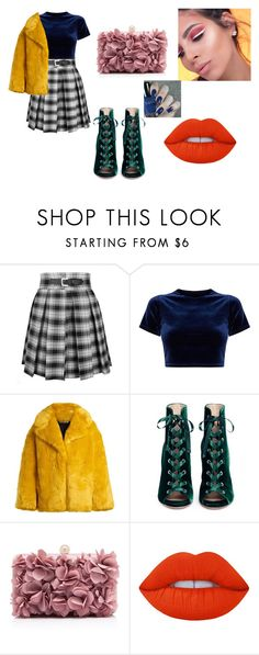 """""""first date"""" by alexa78-1 on Polyvore featuring Diane Von Furstenberg, Gianvito Rossi and Lime Crime"""