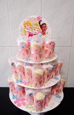 princess cake push pops
