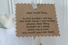 Tooth Fairy Pillow - Handmade - Celebrate Local, Shop The Best of Ohio - 2
