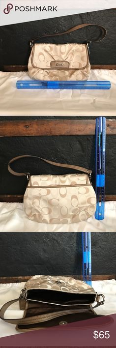 """💯 Authentic Coach Mini Handbag This is an unused 💯 Authentic Coach Mini Handbag. This is an adorable mini hand bag that would be great for a night out, or a quick run to the store. Perfect to carry the essentials and look classy at the same time! I always seem to require a lot of what I consider to be """"essentials"""" therefore this gift I received has never been used! This was purchased at a coach store, but I no longer have the gift receipt. Coach Bags Mini Bags"""