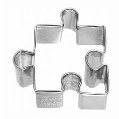 Game Themed Cookie Cutters - Cookie Cutter Puzzle Piece, Small Stainless Steel