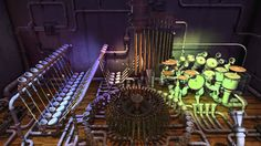 Pipe dream 2 - music and graphics - Animusic
