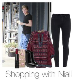 """Shopping with Niall"" by autumnfarmer ❤ liked on Polyvore featuring Paige Denim, Giuseppe Zanotti, Casetify and NARS Cosmetics"