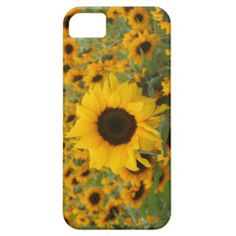 Sunflowers iPhone 5 Covers