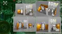 EFECTO ANCHOA, diseño a GAMESA, el stand promocional para su participación en la Feria  SPS IPC DRIVES, Nuremberg Noviembre 2013