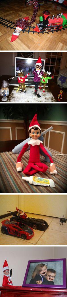 Adventures of Elf on the Shelf…