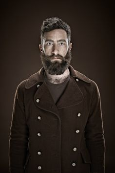 military beard