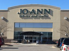 One of the many Jo-Ann Fabrics  visited on this trip November 2016 Missouri USA