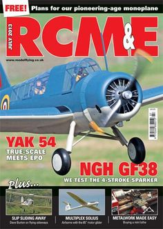 ON THE COVER Looking every bit the rugged observation platform that it was, Graeme Illsley's Vought OS2U-3 Kingfisher is captured on finals at the recent Wittering warbird event hosted by the RAF Model Aircraft Association.