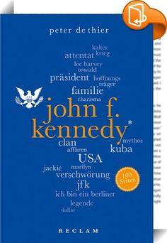 John F. Kennedy. 100 Seiten    ::  JFK war ein Mann mit vielen Facetten: Er war der smarte Spross einer mächtigen Ostküstenfamilie, der schon früh auf die politische Erfolgsspur kam. Bei seinem Amtsantritt 1961 war er mit 43 Jahren der jüngste gewählte Präsident der Vereinigten Staaten. Weit über die Grenzen seiner Heimat hinaus galt er vielen als Hoffnungsträger, als Führungsfigur der »freien Welt«. Er war ein Frauenheld, der sich nicht nur im Glanz seiner Gattin Jackie sonnte. Durch ...