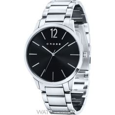 Good luxury gift: Cross Franklin Analog Watch - For Men (Black). Find best gifts from more than 10000 handpicked gift ideas.Find gifts based on relationship, occasion, personality of recipient and your mood Gents Watches, Watches For Men, Cross Pens, Mens Crosses, Mechanical Pencils, Reading Glasses, Luxury Gifts, Omega Watch, Bracelet Watch