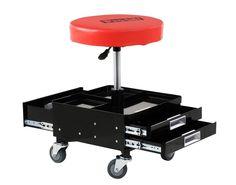 ool Storage Stool Garage Tray Garden Creeper Outdoor Roller Shop Mechanic Seat #UnbrandedGeneric
