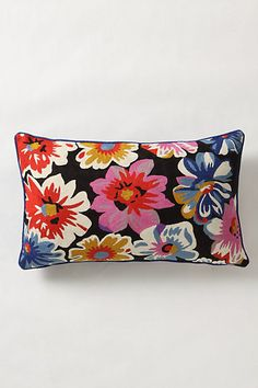 Finishing Flourish Pillow #anthropologie