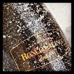 """@roncocalino's photo: """"Voglia di neve? Want some snow? #franciacorta #vino #wine #neve #snow #freddo #cold #inverno #winter #italia #italy #instaitalia #millesimato #vintage"""""""