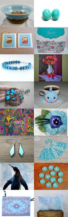 Blue Days by Robert Whitworth on Etsy--Pinned+with+TreasuryPin.com