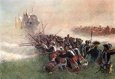 Seven Years War - Leibgarde battalion at Kolin, 1757
