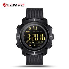 Discount This Month LEMFO Smart Watch Professional Sport Watches Waterproof Clock Pedometer Swimming Bluetooth Sync For IOS Android Phone Smartwatch Waterproof, Smartwatch Bluetooth, Bluetooth Watch, Uganda, Sierra Leone, Sport Watches, Watches For Men, Gps Watches, Barbados
