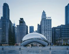 I'd love to go here.. Road trip anyone?! Arquitectura moderna: Chicago, Illinois