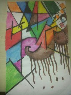 art journaling, just trying something..