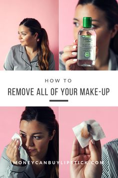 Best makeup remover and cleansing oil. Nighttime skincare routine. How to remove ALL of your makeup easily.