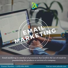 AdsRole's email marketing services are tailor-made to meet your requirements. Our digital marketing professionals, who are tasked with email marketing, are committed to providing you with the best services that your money can get. #AdsRole #EmailMarketing #MarketingSolutions #DigitalMarketing #EmailCampaigns Email Marketing Services, Email Marketing Strategy, Seo Strategy, Marketing Consultant, Business Marketing, Email Template Design, Best Email, Transportation Services, Marketing Professional