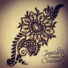 #henna practice #hearts #mehndi #jamilahhennacreations