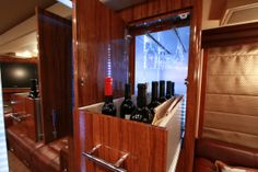 Kix has his own wine cellar and chiller. See MORE celeb motor homes here>> http://www.greatamericancountry.com/shows/celebrity-motor-homes?soc=pinterest