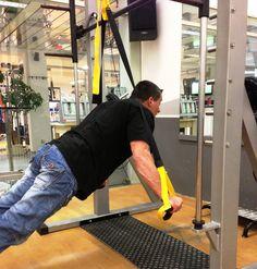TRX Training fuer den ganzen Koerper.