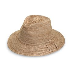 Wallaroo Women s Victoria Fedora Sun Hat – Poly-Straw – Mixed Camel –  Todays Shopping 8a7c3be75838
