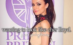 Find images and videos about girls, cher lloyd and just girly things on We Heart It - the app to get lost in what you love. Just Love, Love Her, That Look, Smile Tumblr, Cher Lloyd, She Is Gorgeous, Justgirlythings, Reasons To Smile, Some Girls